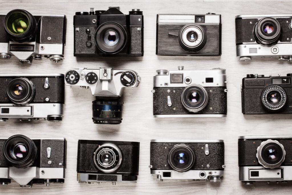 豊富なカメラの販売ルート