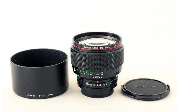 Canon キャノン NEW 85mm f1.2