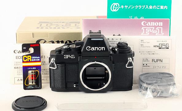 Canon キャノン NEW f-1