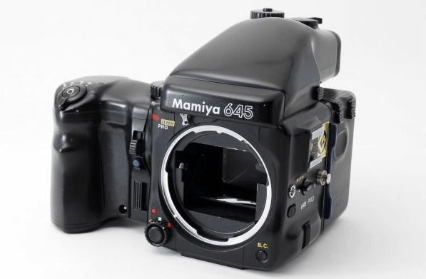 mamiya 645 pro AEファインダー