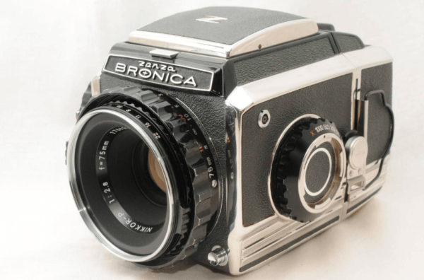 Zenza Bronica ブロニカ s2 75mm f2.8