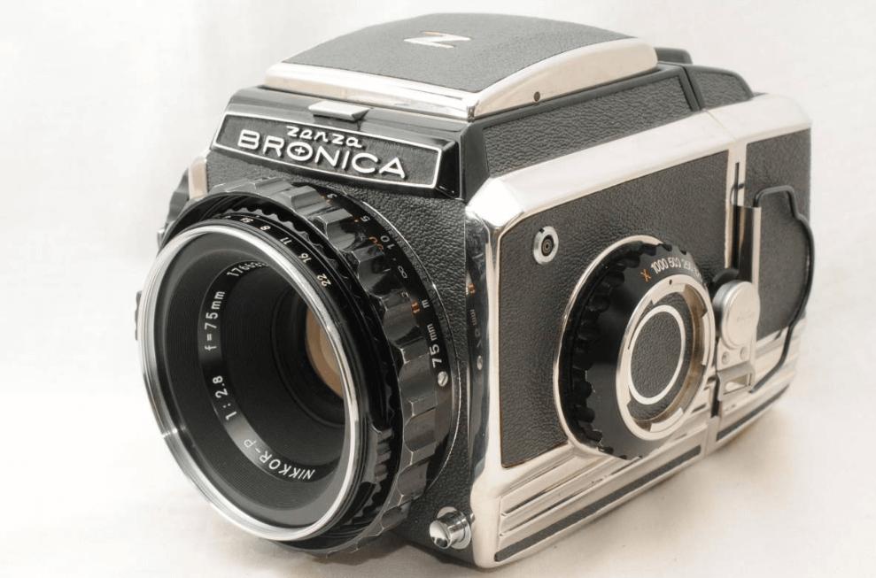 ブロニカ s2 75mm f2.8